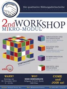 Flyer Workshop 2 - 2 RIESS
